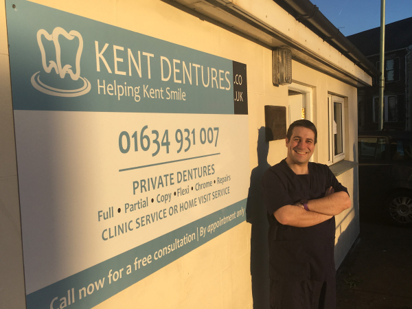 Kent Dentures Opens New Gillingham Clinic and Lab for 2017